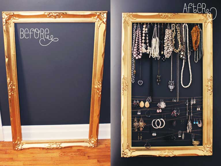 Diy Jewelry Frame Alex Inspired
